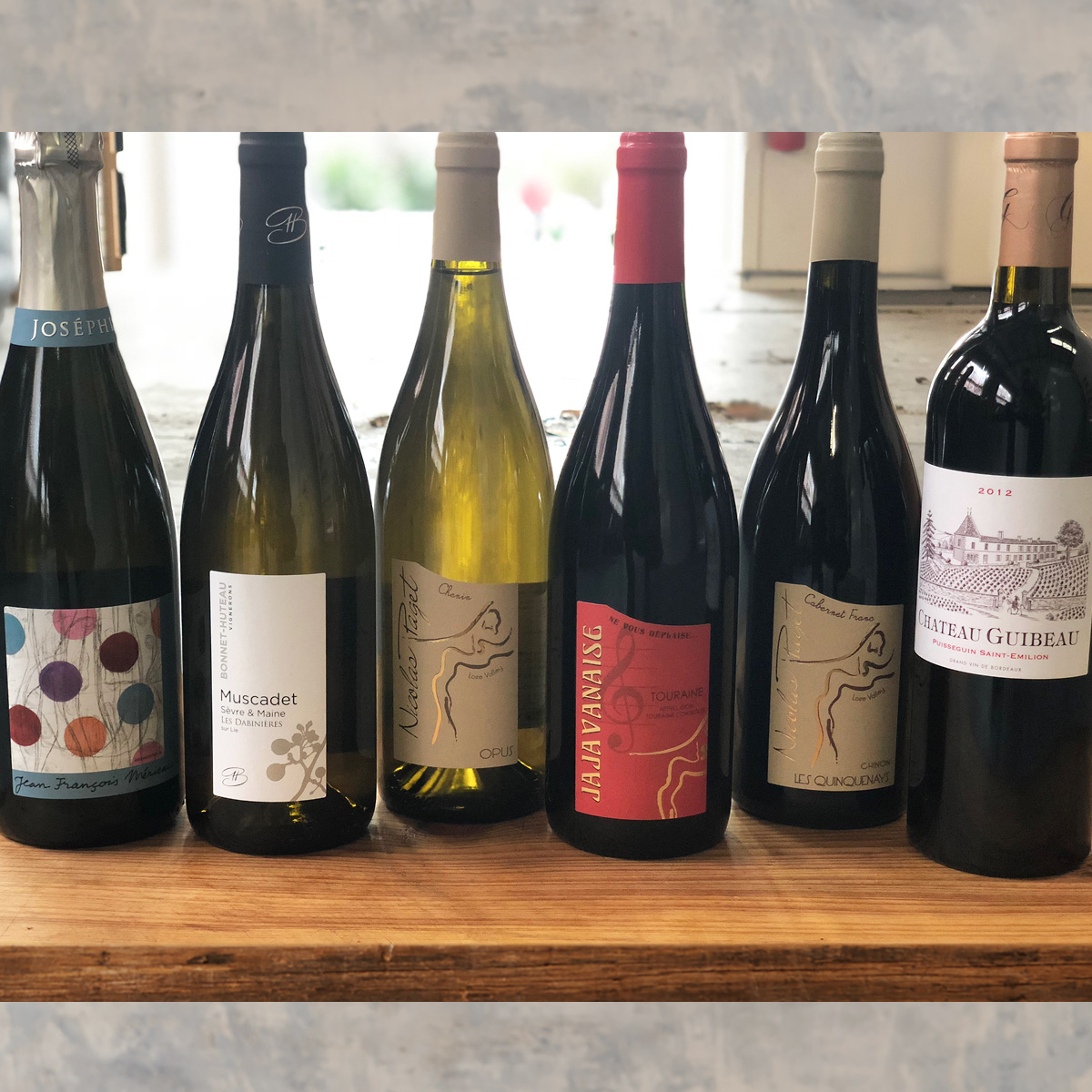 Scott Neville 'Wines of France' Collection