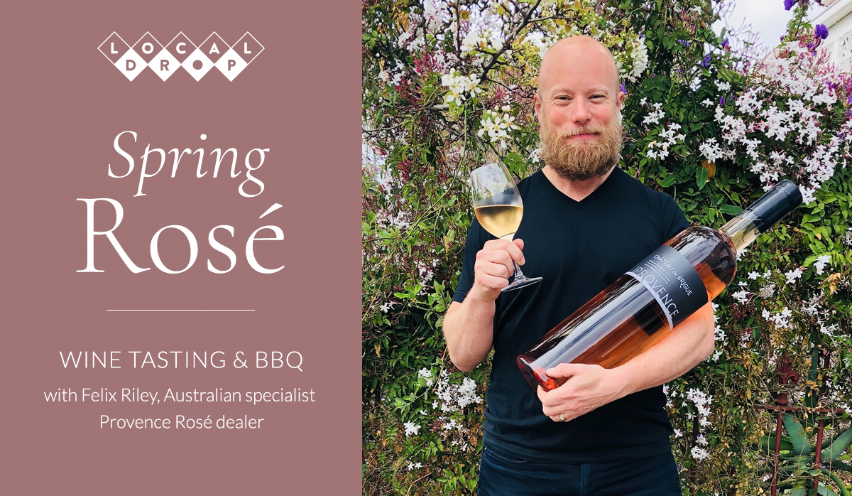 Spring Rosé – Wine Tasting and BBQ