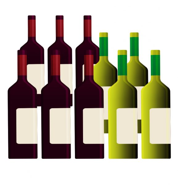 Add a selection of wines